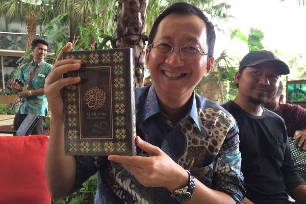 Direktur APP Sinar Mas, Suhendra Wiriadinata. (man)