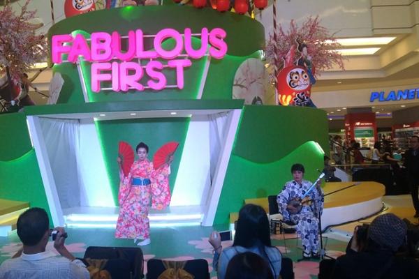 salah satu penampilan tarian khas budaya Jepang, (bd)