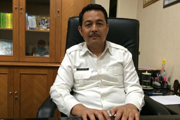 Kepala BPN Kota Tangsel Alen Saputra. (man)