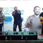 Mike Muhede Hibur Warga Tangerang