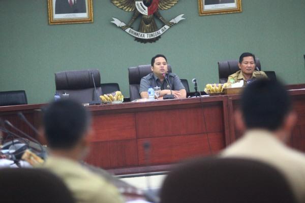 Walikota Tangerang meminta verifikasi piutang pajak dipercepat. (ist)