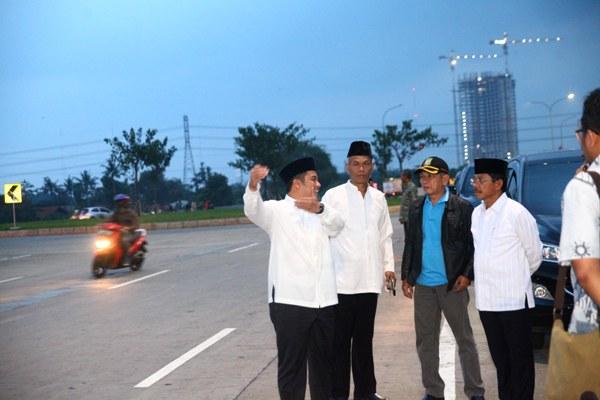 Walikota Tangerang sidak lokasi balap liar di perumahan Green Lake. (ist)