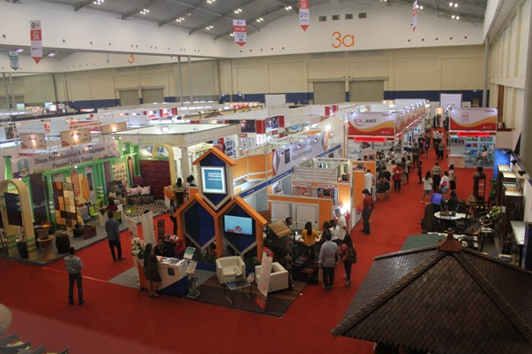 building dan contruction job fair di Indobuildtech ICE BSD. (bung)