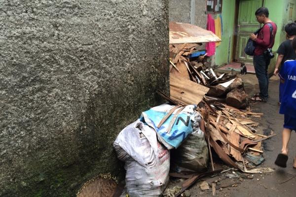 Kumuh, salah satu kawasan di Kota Tangsel. (man)
