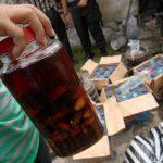 Polsek Jatiuwung Sita Ratusan Botol Miras