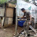 Kondusif, 1000 Petugas Bongkar Kawasan Hiburan Alang-alang