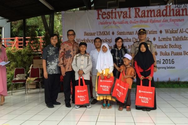 Festival Ramadan 2016 yang digelar PT BSD. (man)
