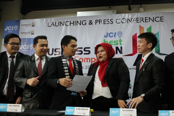 Junior Chamber Internasional (JCI) Indonesia saat menggelar press conference. (ist)