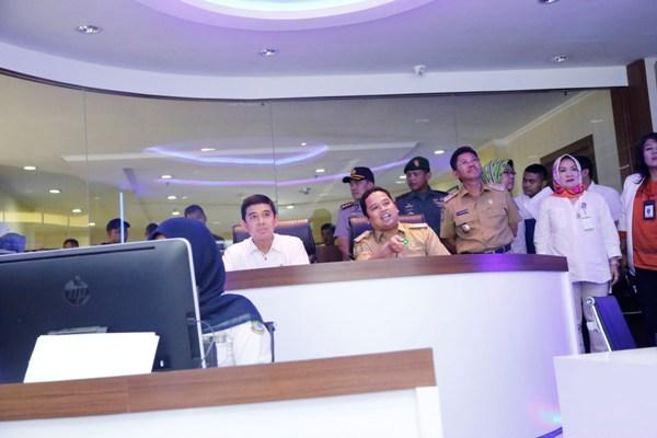 MenPAN-RB Kunjungi Tangerang Live Room milik Pemkot Tangerang. (ist)