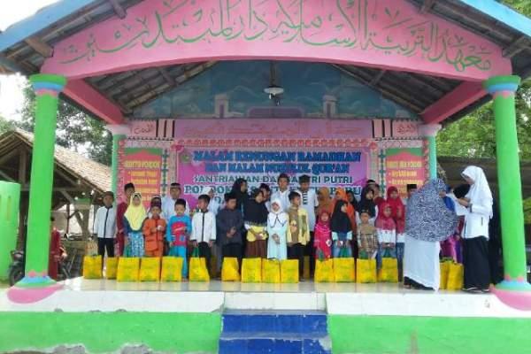 Anak-anak antusias mengikuti kegiatan di Pontren Terpadu Daarul Mubtadi-in. (ist)