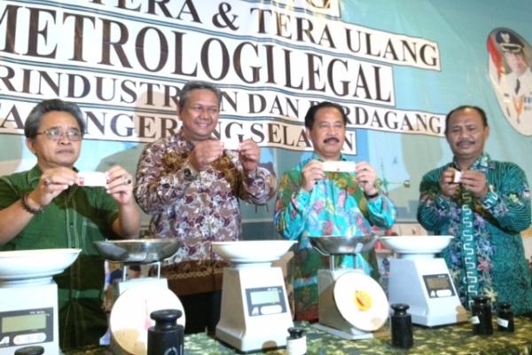 Peluncuran UPT Metrologi Tangsel di Serpong. (man)