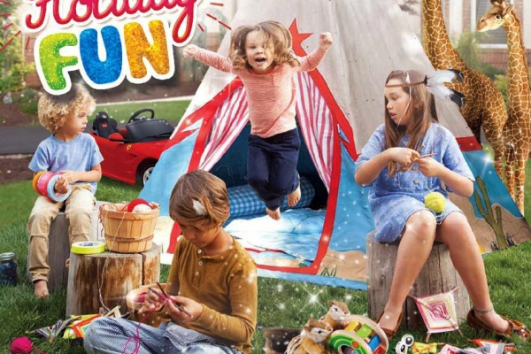 Holiday Fun Toys Kingdom. (ist)