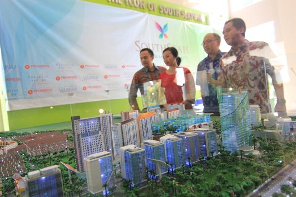 Peluncuran cluster Southscpae Paradise Serpong City di Serpong. (dok)