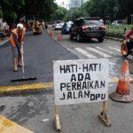 Jelang Arus Mudik, Ruas Jalan Provinsi di Tangerang Dibenahi