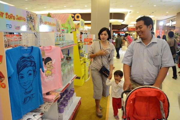 Tangcity mall menghadirkan beragam hadiah menarik bagi pengunjung selama Juni sampai Juli. (ist)