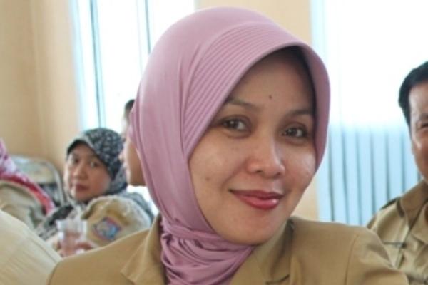 Sekretaris BPMPPKB Kota Tangsel, Yanti Sari. (dok)