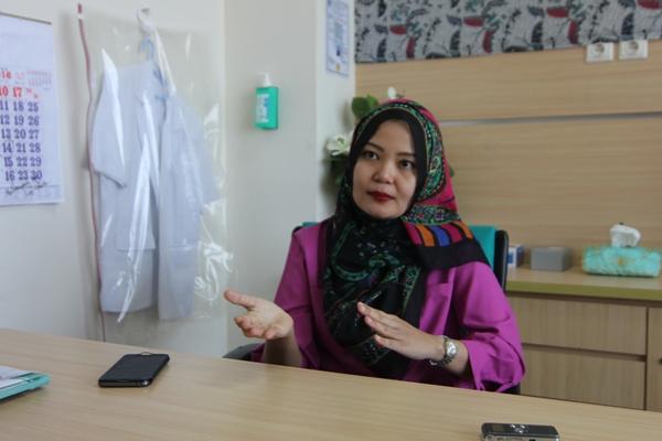 dr Luluk Dwi Yuni, dokter spesialis jantung RSU Kota Tangsel. (one)