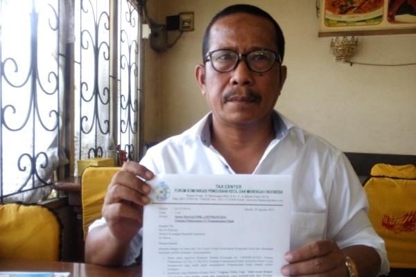 Ketua Forum Komunikasi UMKM Indonesia, Arwan Simanjuntak. (jok)