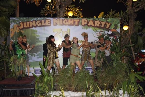 Kegiatan perayaan HUT ke-3 Soll Marina Hotel Serpong. (nad)