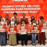 160 Anak Pengemudi & Mekanik Terima Dana Pendidikan