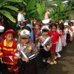 TK Negeri Pembina 1 Tangsel Gelar Karnaval
