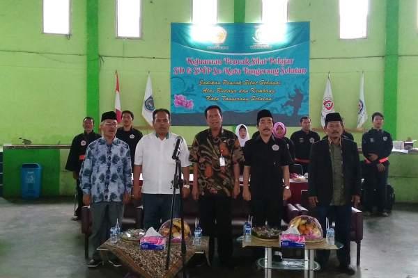 Pembukaan Kejuaraan Pencak Silat SD & SMP se-Kota Tangsel. (ist)