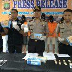 Polres Tangsel Bekuk 5 Bandar Narkoba