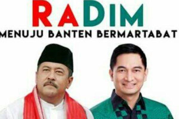 Rano - Dimyati dinilai sosok paling pas saingi pasangan WH - Andhika. (ist)