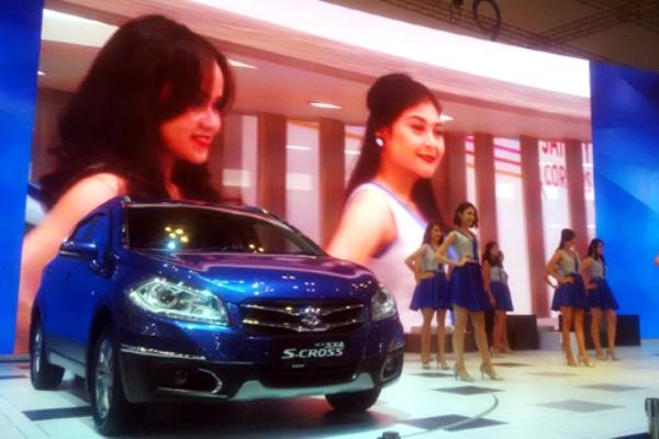 Crossover premium, New SX4 S-CROSS dari Suzuki siap bersaing di pasaran mobil. (bd)