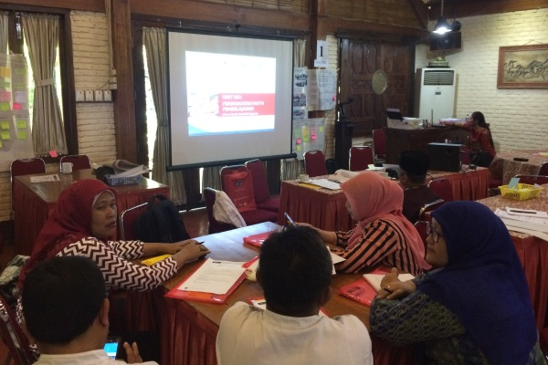 Pelatihan modul 3 yang dilaksanakan USAID Prioritas. (nad)