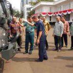 Kementerian Pertahanan Terima Bantuan Kendaraan Isuzu