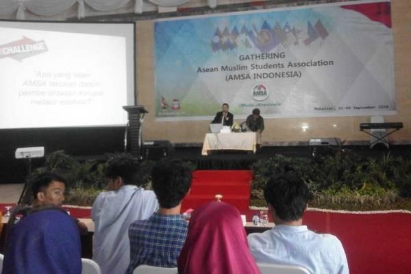Kegiatan gathering AMSA di Makassar. (ist)