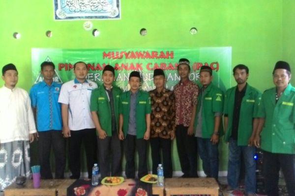 Pengurus GP Ansor Kecamatan mauk. (day)