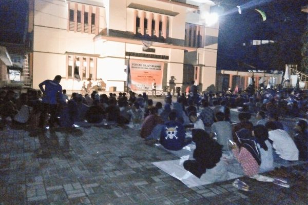 Kegiatan organisasi mahasiswa di IAIN Serang, Banten. (ist)