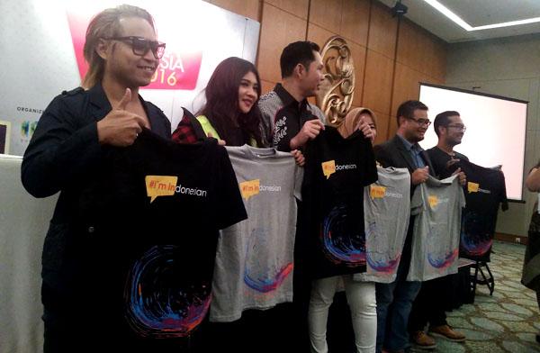 Personil J-Rock dan DP yang bakal meramaikan Konser 1000 Band bersama pihak penyelenggara. (bd)