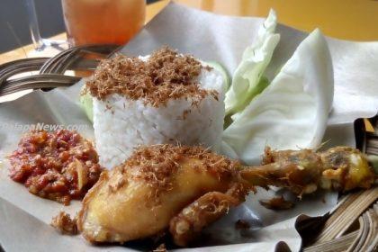 Salah satu menu andalan Resto Sambel Parah. (ist)