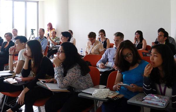 Para peserta JWFMD  2016 mengikuti sesi kelas. (ist)