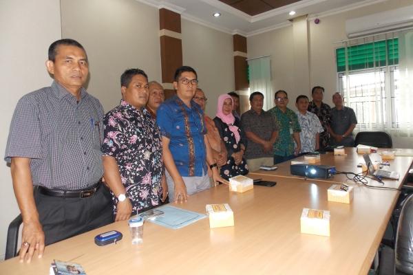 Anggota Banang DPRD dan TAPD Sawalunto belajar e-budgeting ke Bappeda Tangsel. (ard)