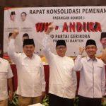 Petinggi Gerindra Kumpul Bahas Pemenangan WH-Andika