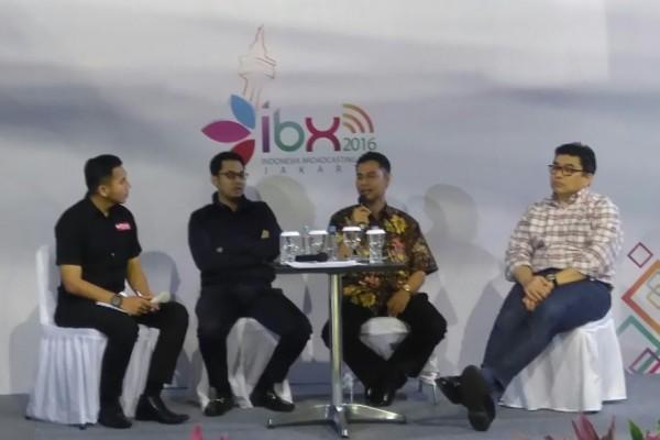 """Diskusi """"Migrasi Digital"""" pada perhelatan IBX 2016 di Balai Kartini. (ist)"""