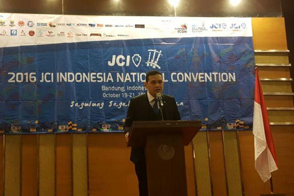 President JCI Indonesia, Yedi Karyadi. (ist)