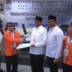 KPU Banten Tetapkan Dua Pasangan Calon