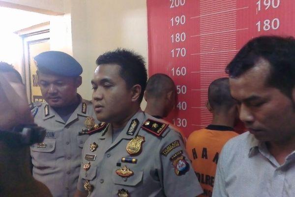 Kapolsek Balaraja Kompol Wiwin Setiawan. (uad)