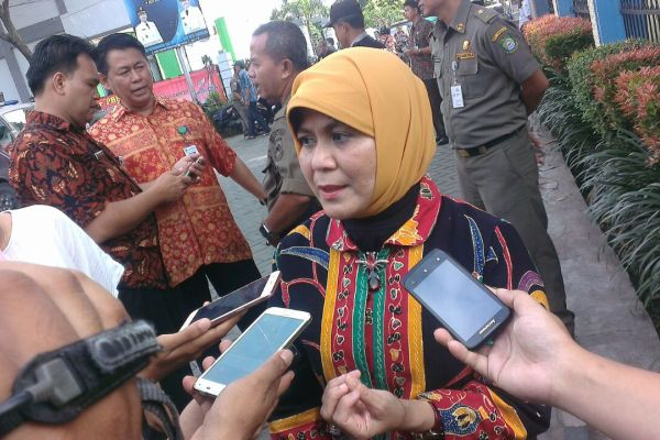 Kepala Dinas Kesehatan Kota Tangerang, Liza Puspitadewi. (uad)