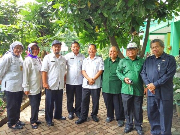 Tim verifikasi penilaian lomba kota sehat di Kota Tangerang. (pp)