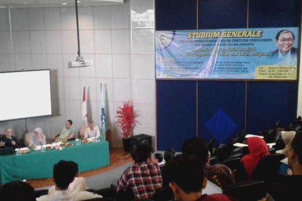 Studium generale sekaligus mengenang Cak Nur di UIN Syarif Hidayatullah. (ist)
