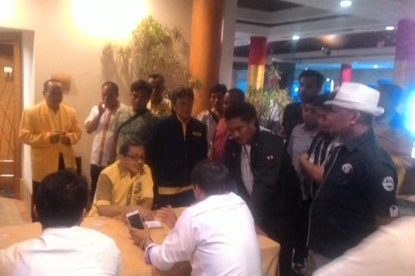 Masih alot, Musda DPD Golkar Kota Tangerang. (uad)