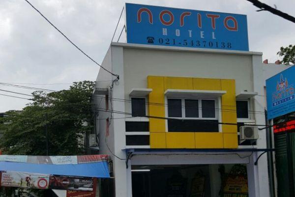 Penampakan Norita Hotel di Kota Tangerang. (uad)