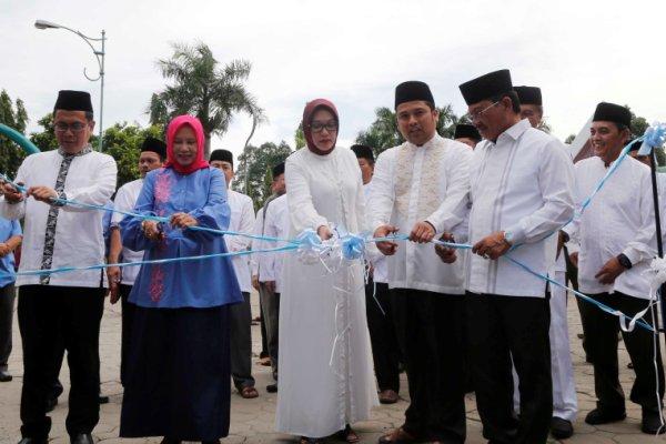 Jajaran Pemkot Tangerang membuk Fastival Al Azhom. (ist)