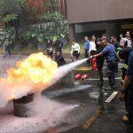 Hotel Santika Premiere Bintaro Gelar Simulasi Kebakaran